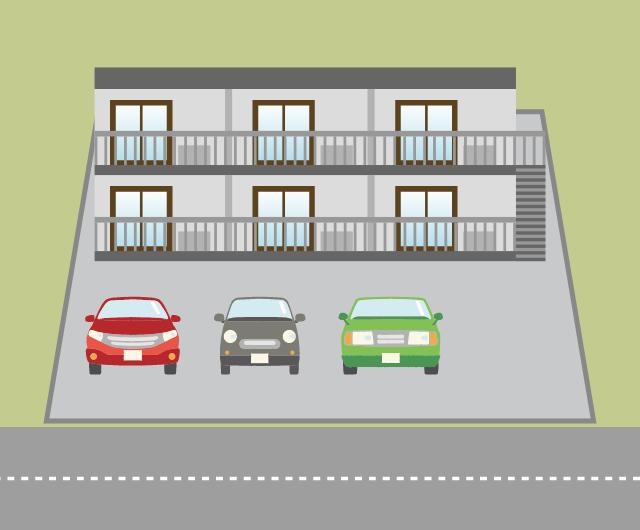 アパート等の敷地